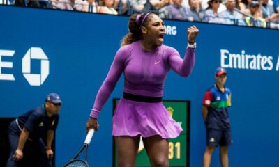 Serena Williams of the U.S.