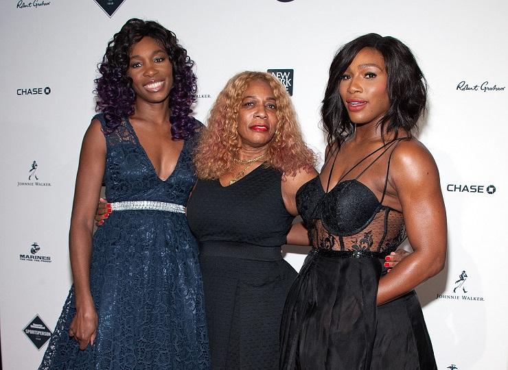 Serena, Mom, and Venus Williams