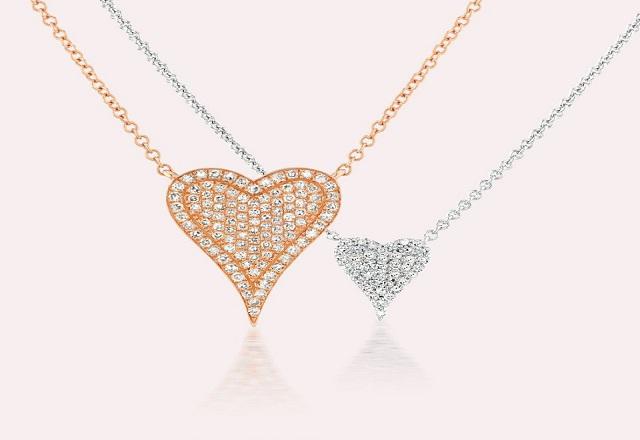 Serena Williams Jewelry Heartbeats Diamond Necklace Set