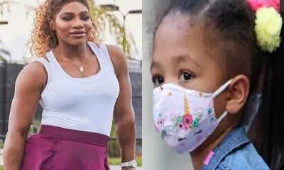 Serena Williams and daughter Olympia Alexis