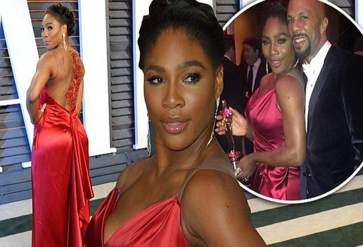 Serena Williams meets former boyfriend Common for charity