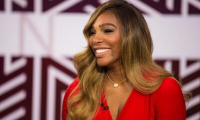 Serena Williams red
