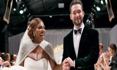 Serena Williams wedding photo