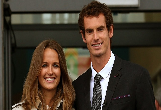Sir Andy Murray and wife Kim Sears