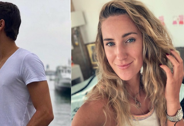 Victoria Azarenka Spotted Kissing Young guy
