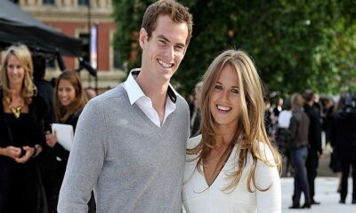 Andy Murray and wife Kim Sear