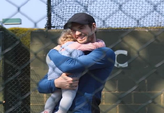 Andy Murray spends amazing time with his family