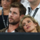 chris hemsworth andhis wife;Elsa