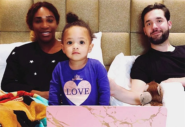Serena Williams Says Their Daughter Will Be 'Proud' of Alexis Ohanian for Stepping Down From the Reddit Board
