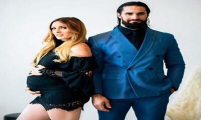 Parents-To-Be Becky Lynch Shows Off Baby Bump in a Recent Photoshoot With Seth Rollins