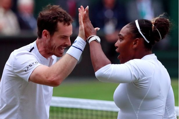 Andy and Serena