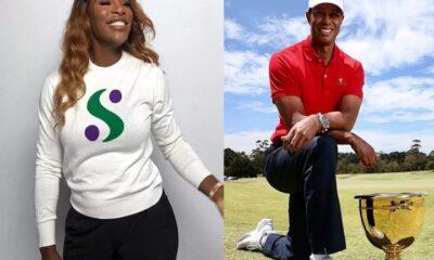 Injured Serena Williams as inspiring as Tiger Woods