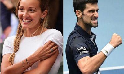 Jelena and Novak Djokovic