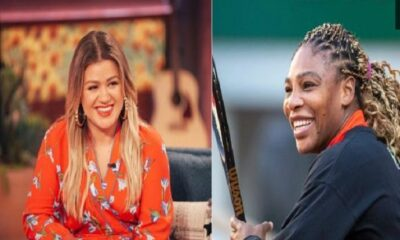 Kelly Clarkson and Serena Williams