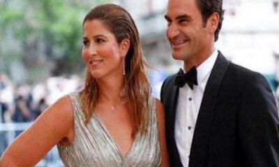 Mirka Federer and Roger Federer