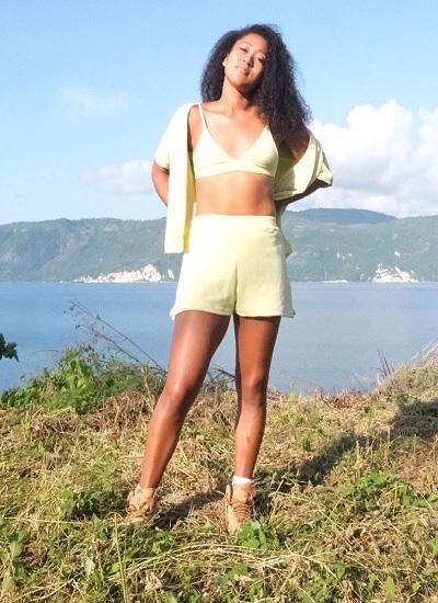 Naomi Osaka in Haiti