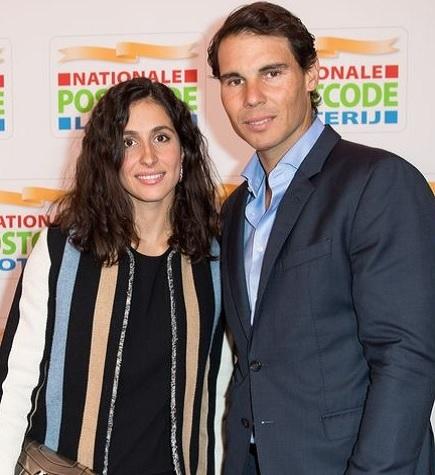 Rafa Nadal and Maria Parello Nadal