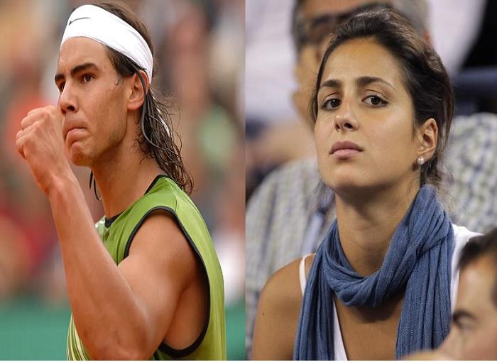 Rafa and Maria Nadal