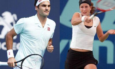 Roger Federer and Wife, Mirka