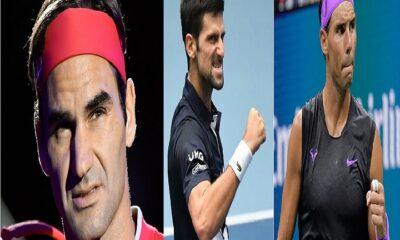 Roger, Novak and Nadal