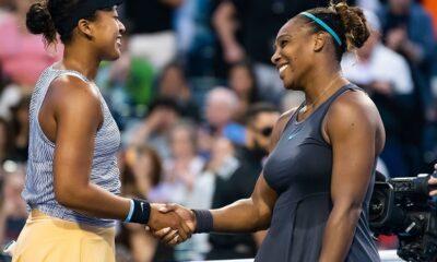 Serena Williams and Naomi Osaka