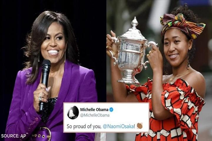Michelle Obama and Naomi Osaka