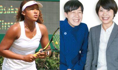 Naomi Osaka and Japanes Comedians