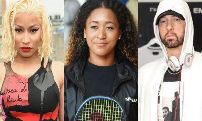 Nicki, Naomi and Eminem