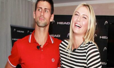 Novak and Maria Sharapova