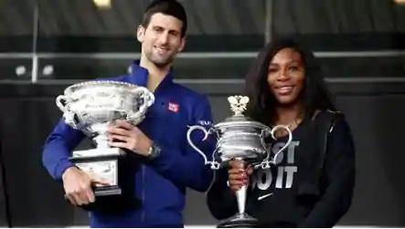 Novak and Serena