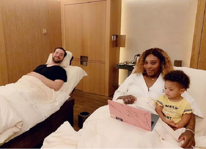 Serena Williams explains when and how she can relax