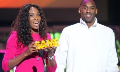 Serena and Kobe Bryant