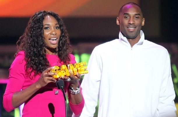 Serena and Kobe Bryant