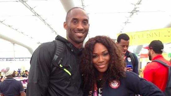 Serena and Kobe