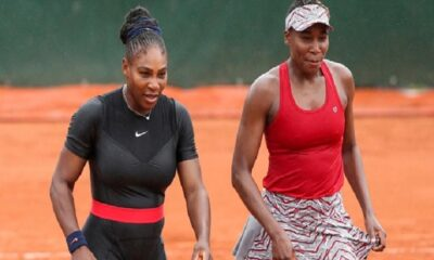 Serena and Venus Williams Workout