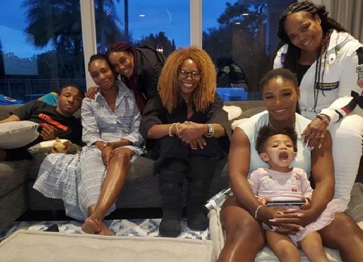 Venus and Serena Williams family