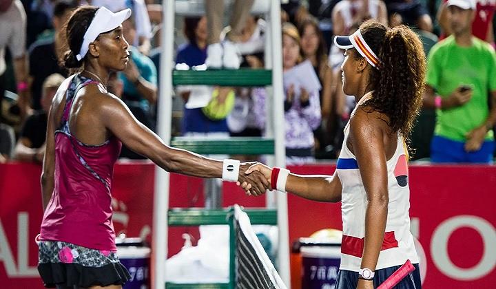 Naomi and Venus Williams