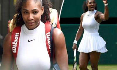 Serena Williams in see through top