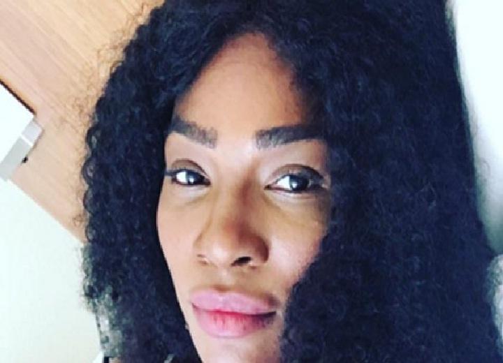 Serena Williams looking cute