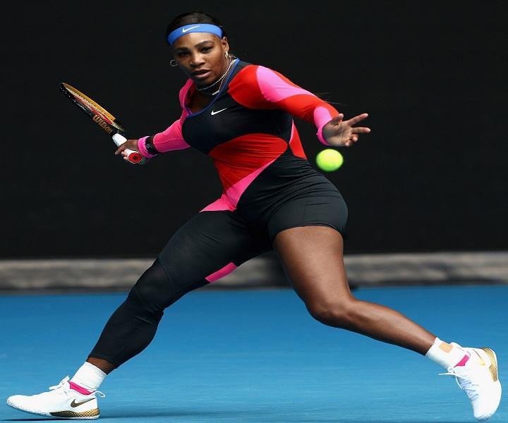 Serena Williams tennis court