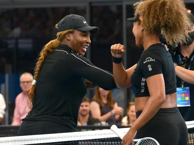 Serena and Naomi Elbow