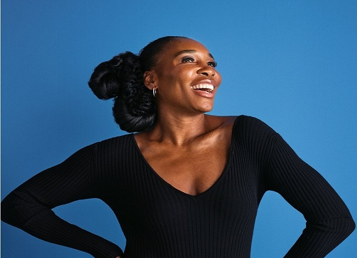 Venus Williams beauty unveiled