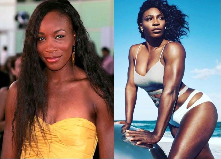Venus and Serena Williams beauty