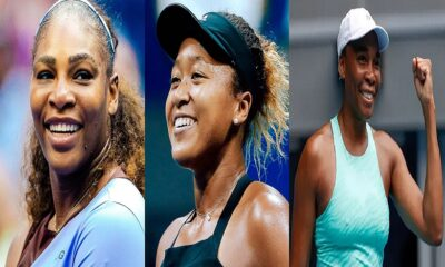 Naomi Osaka, Serena and Venus Williams