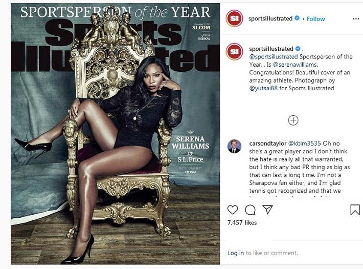 Serena Williams cover photo