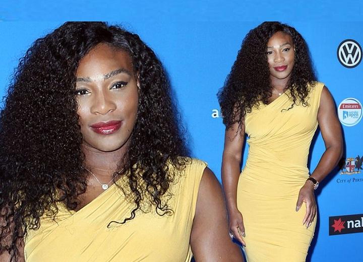 Serena Williams poor makeup