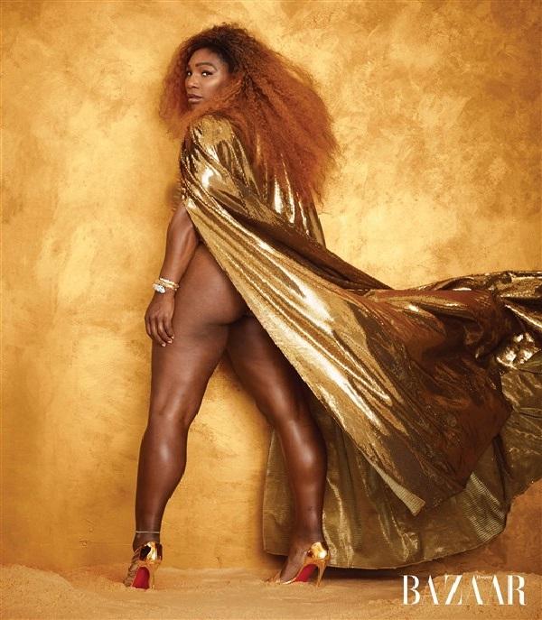 Serena Williams shines