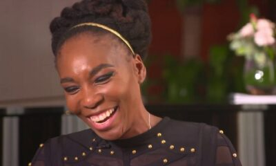 Venus Williams happy