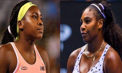 Coco Gauff and Serena Williams
