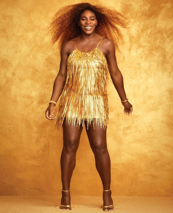Serena Williams Harper Bazaar